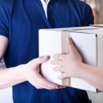 Afleveren pakketje