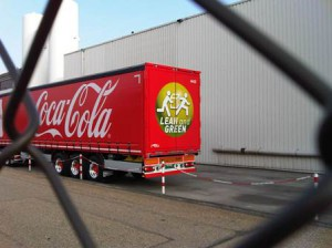 Coca-Cola Lean and Green op LZV