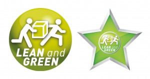 Lean and Green en Star logo