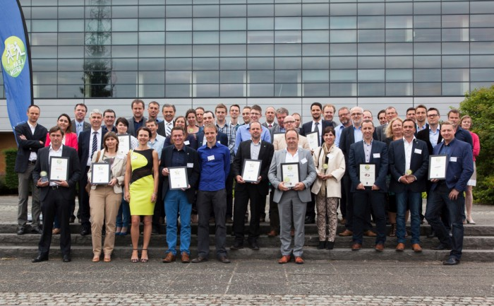 Lean and Green award- en star winnaars 16-06-2015