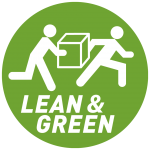 Lean and Green nieuw logo